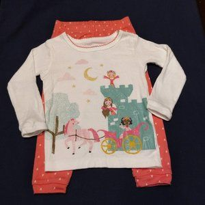 Carters NWOT Princess PJ Set, So Cute!!